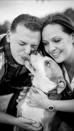 Engagement Pics with our dog <3