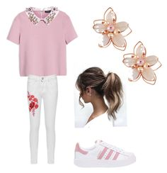 A fashion look from November 2017 featuring embroidered shirts, white jeans and leather shoes. Browse and shop related looks. Max Co, Leather Shoes, Adidas Originals, White Jeans, Fashion Looks, Polyvore, Shirts, Shopping, Leather Dress Shoes