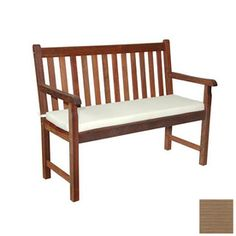 Anderson Teak 47 In L Teak Patio Bench