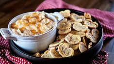 This is sure to be a new classic, warm cookies and perfectly paired dip are sweet and fun to eat.