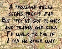 I'd walk to you if I had no other way <3  #militarylove #army #love