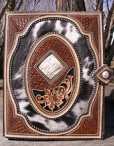 Stunning leather journal from master craftsman Denice Langley