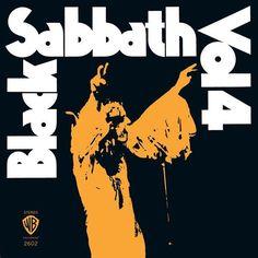 Black Sabbath - Vol. 4 (180 Gram Vinyl, Limited Edition, Orange, Colored Vinyl)(LP)