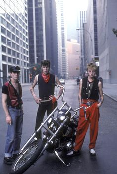 Stray Cats, 1982, this was the year that Brian actually asked me out on a date while they were in LA.