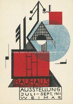 Vintage Postcard, Bauhaus                                                                                                                                                                                 Mehr