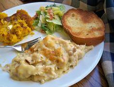 Layered Chicken and Dumpling Casserole Recipe