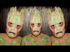 How to Create Groot's Mask & Makeup: Advanced DIY Guardians of the Galaxy Costume « Halloween Ideas :: WonderHowTo