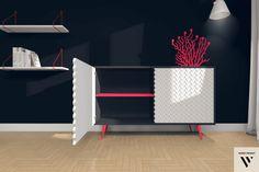 GALERIA INSPIRACJI - panele DUDEK projekt we wnętrzach.Nasze panele można montować nie tylko na ścianie czy meblach.Zainspiruj się z nami!