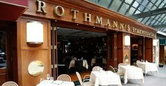 Rothmann's Steakhouse - #NYC in Midtown East.... One of our favorite places for Steak!