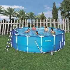 Bestway 15 Foot By 48 Inch Steel Pro Round Frame Pool Set Bestway Http