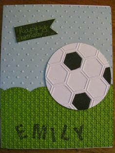 Stampin' Up Soccer Ball