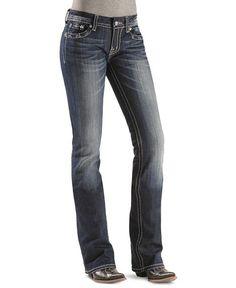 "Miss Me Jeans - Heavy Embellished Cross Jeans - 33 1/2"" #Miss_Me_Jeans  #Heavy #Embellished #Cross #Jeans"