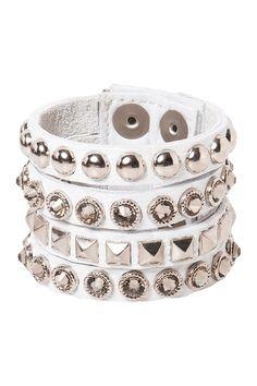 Fall in Line Bracelet by Leatherock on @HauteLook
