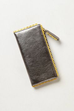 Scalloped Frill Wallet - anthropologie.com