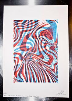 Hi, I'm Nathan. I'm a print artist.