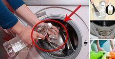 lege 2 sp lmaschinentabs in die waschmaschine dieser trick ist nicht nur putzen pinterest. Black Bedroom Furniture Sets. Home Design Ideas