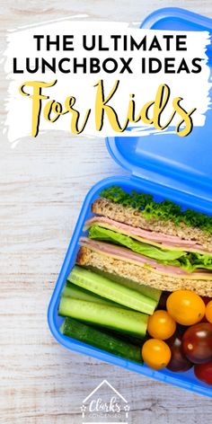 Need some great school lunch ideas for school? Here is the ultimate list of ideas, hacks, and more to make your school year go much more smoothly! Bento Box Lunch For Kids, Kids Lunch For School, Lunch Box, Lunch Ideas, Kitchen Recipes, Baby Food Recipes, Non Sandwich Lunches, Sandwich Ideas, Kid Lunches