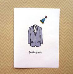 Bildergebnis für Birthday Card Diy For Him