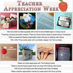 8 DIY teacher appreciation projects!