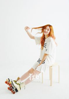 YG's model/new actress Lee Sung Kyung for ize Magazine Lee Sung Kyung Photoshoot, Lee Sung Kyung Fashion, Joon Hyung, Weightlifting Fairy Kim Bok Joo, Fashion Poses, Fashion Ideas, Korean Actresses, Korean Actors, Korean Star
