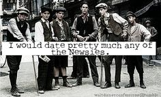 http://waltdisneyconfessions.tumblr.com/post/8860196515/i-would-date-pretty-much-any-of-the-newsies