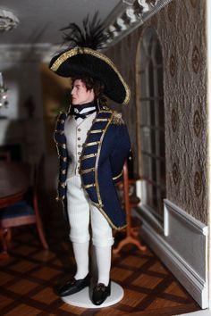 Captain Horatio Hornblower 1/12 Scale Dolls by THBespokeMinatures