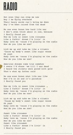 New quotes song lyrics lana del rey music 36 Ideas New Quotes, Lyric Quotes, Quotes To Live By, Funny Quotes, Life Quotes, Inspirational Quotes, Motivational, Lana Del Rey Quotes, Lana Del Rey Lyrics