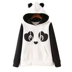 Panda lovers rejoice! This awesome panda hoodie will have you turning heads at the everywhere you go. It's super warm and made of cotton and polyester, making it ideal for comfort and stretchiness. Fl