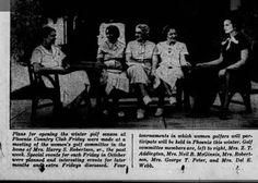 Mrs Neil B. McGinnis & Mrs Del E. Webb PHX COUNTRY CLUB 1935