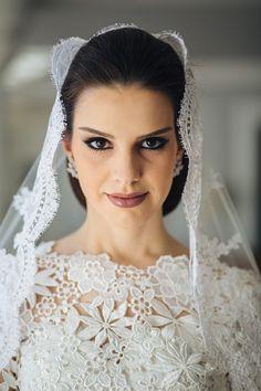 Noiva - Bride - Maquiagem - Makeup - Penteado - Maquiagem de Noiva - Casamento - Wedding - Inesquecível Casamento