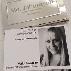 Mai Johansson Designer and Marketingcoordinator