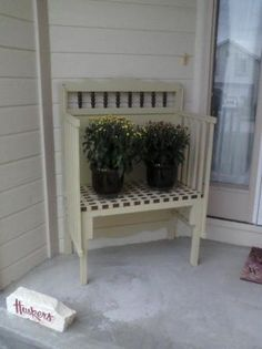Spring Project Make A Bench Out Of An Old Crib Crib