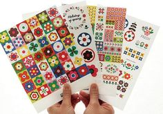 This is really cute sticker set.- 4 sheets, many stickers- Weight: 25g- Material: paper- Size: 15cm …