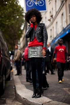 Fashion Grunge It Girl: Julia Sarr-Jamois - fashionDrip
