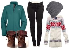 """Snow bunny"" How to make a Northface fleece fashionable - College Fashion"