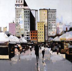 City Portrait ~Geoffrey Johnson