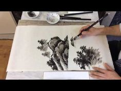Sumi-e - YouTube Wild Orchid, Youtube, The Creator, Make It Yourself, Ink Drawings, Painting, Tutorials, Photos, Art