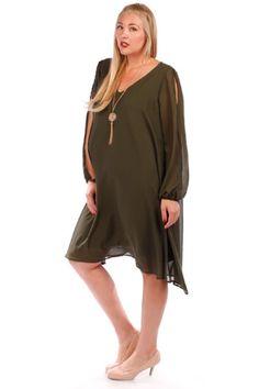 Playful Portrayal Plus Size Maternity Dress