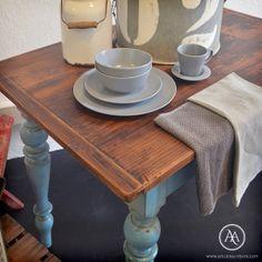 Rustic dining table by Atelier Autêntico | Mesa de jantar rústica