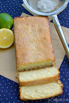 Lemon Lime Snack Cake - This Silly Girl's Life