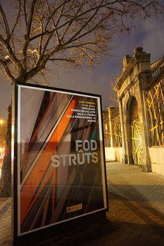 """Cartel de la #Exposición """"Strûts"""" de FOD en la Fragua de #ArteTabacalera #PromociónDelArte #Madrid #Arte #Art #ContemporaryArt #ArteContemporáneo #Madrid #Arterecord 2016 https://twitter.com/arterecord"""