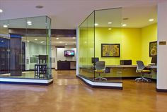 Commercial Floors Pictures - Gallery - The Concrete Network Acid Wash Concrete, Stained Concrete, Concrete Floors, Office Floor, Commercial Flooring, Building, Table, Furniture, Seattle