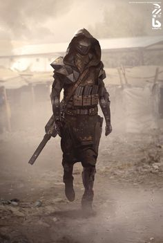 21 concept art de science-fiction de Nivanh Chanthara