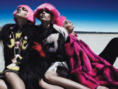Bold Style - Photo by Patrick Demarchelier, styled by Edward Enninful; W Magazine August 2012