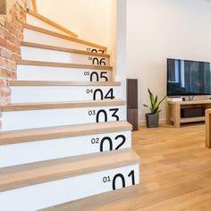 Stickers deco contremarche escalier par Optimistick
