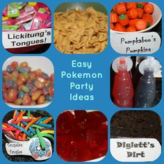 Looking for easy Pokémon party ideas? You've come to the right place! Here's the party plan I used last night to celebrate my son's sixth birthday. One of the first things I noticed when I was brow...