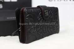 Chanel 50085 pocket wallet in camellia-embossed lambskin  Code:50085  Color:black  Leather: camellia-embossed lambskin  Dimension: 15CM*10CM*4CM  Price:USD235  inquiry: buy@ladybag.us  Website: http://www.ladybag.us/      #chanelwallet #chanel #chanelbag