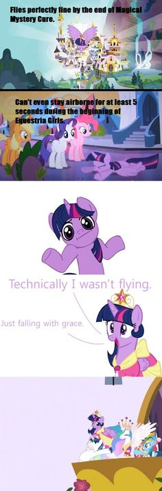 Twilight falling with grace! WAIT STOP! isn't it supposed to say falling with style? from Toy Story.