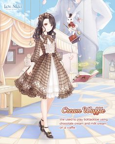 Love Nikki-Dress UP Queen. Come to play Love Nikki, a dressing up. Anime Outfits, Girl Outfits, Cute Outfits, Royal Clan, Baby Dress, Dress Up, Nikki Love, Queen Outfit, Hair Sketch