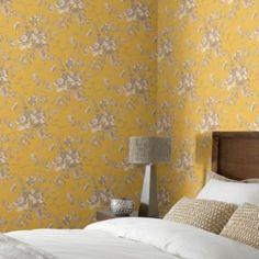 Arthouse Vintage Fleurette Gold Wallpaper: Image 2